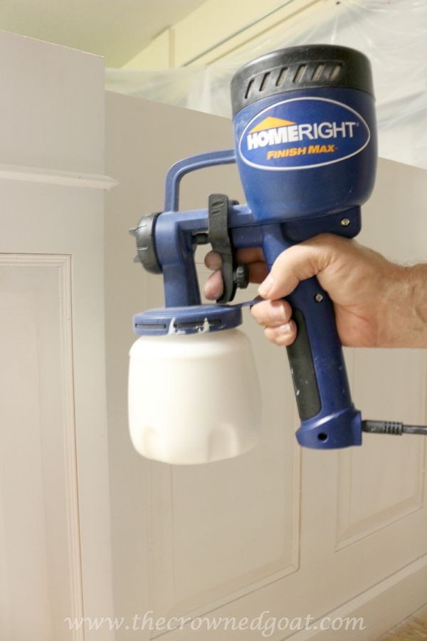 082515-18 Painting a Kitchen Island with the HomeRight Finish Max Sprayer DIY
