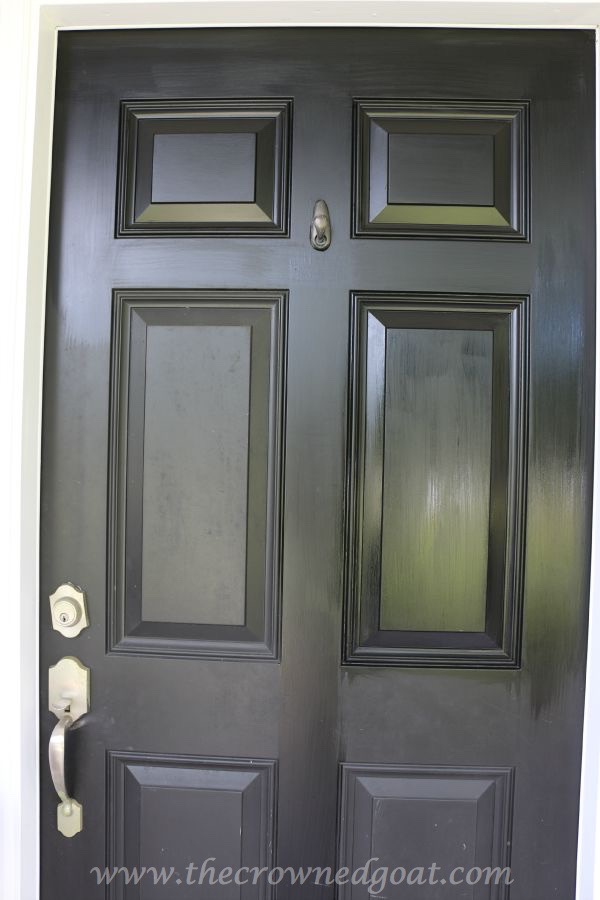 092315-15 Front Door Paint with Modern Masters DIY