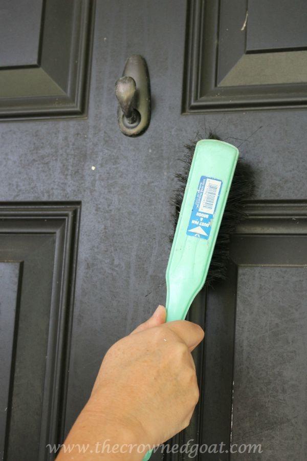 092315-8 Front Door Paint with Modern Masters DIY