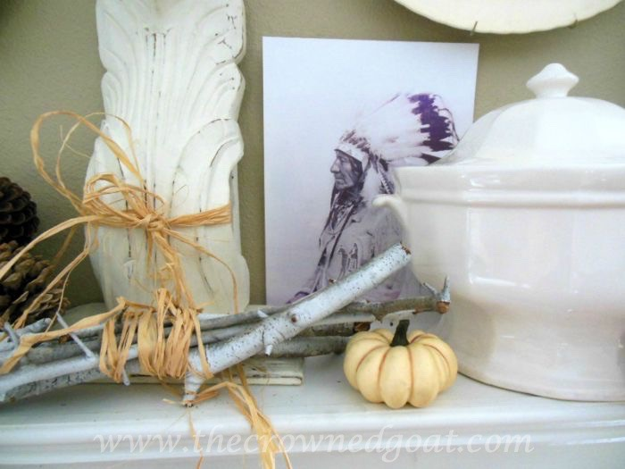 Native-American-Inspired-Fall-Mantle-090315-4 10 Ways to Ease Into Fall Holidays