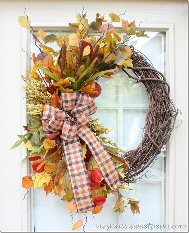 fallwreathforthedeck_thumb Something to Talk About Link Party 37 LinkParty