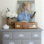 French Linen Painted Dresser