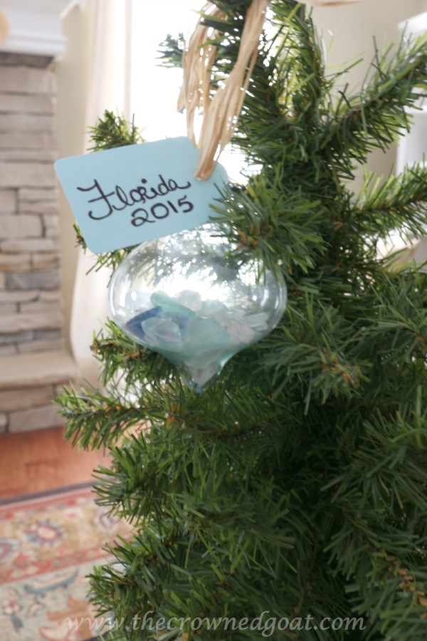 Easy Coastal Inspired Ornaments - The Crowned Goat