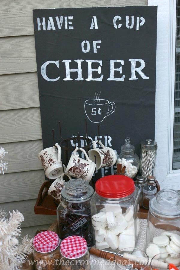 120315-15 White Christmas Inspired Patio Christmas Decorating Holidays