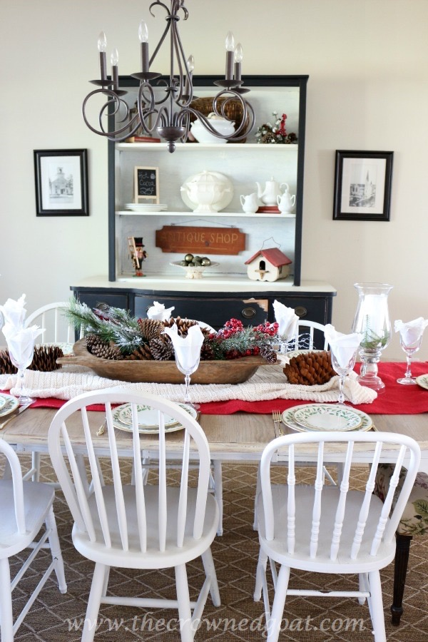 121515-2 Last Minute Holiday Tablescape Ideas Christmas Decorating Holidays
