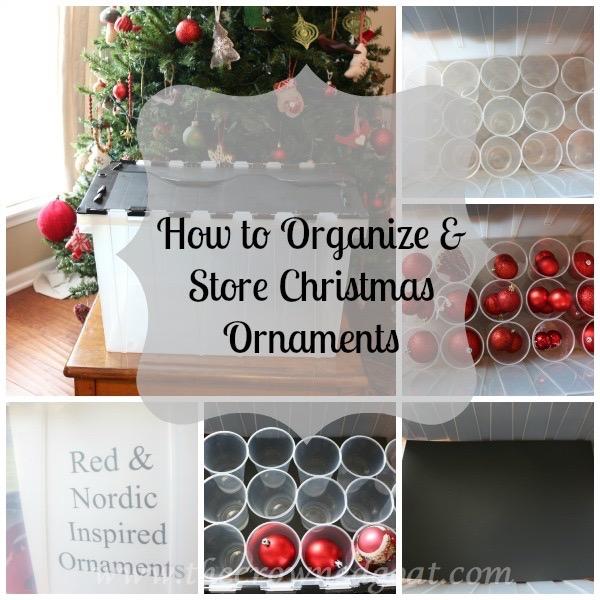 122915-11 How to Organize Christmas Ornaments DIY Holidays