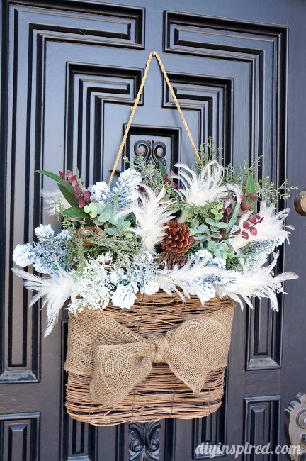 Stta-Link-Party-49-Winter-Wreath-for-After-Christmas Something To Talk About Link Party #49 LinkParty