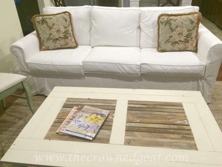 011416-16 Loblolly Manor Coffee Table Decorating DIY Painted Furniture