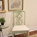 Lucketts Green Milk Painted Chairs