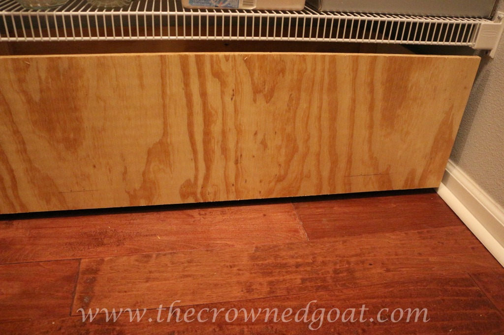 How to Make Pantry Storage Drawers - The Crowned Goat