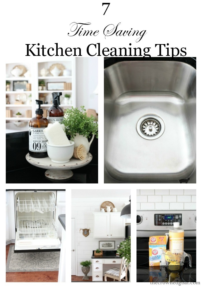 Time-Saving-Kitchen-Cleaning-Tips-The-Crowned-Goat-10 7 Time Saving Kitchen Cleaning Tips Organization