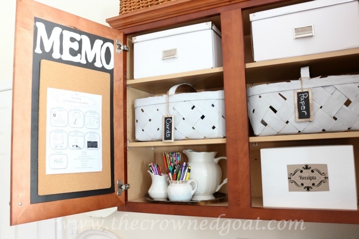 020216-19 How to Organize a Kitchen Desk Organization