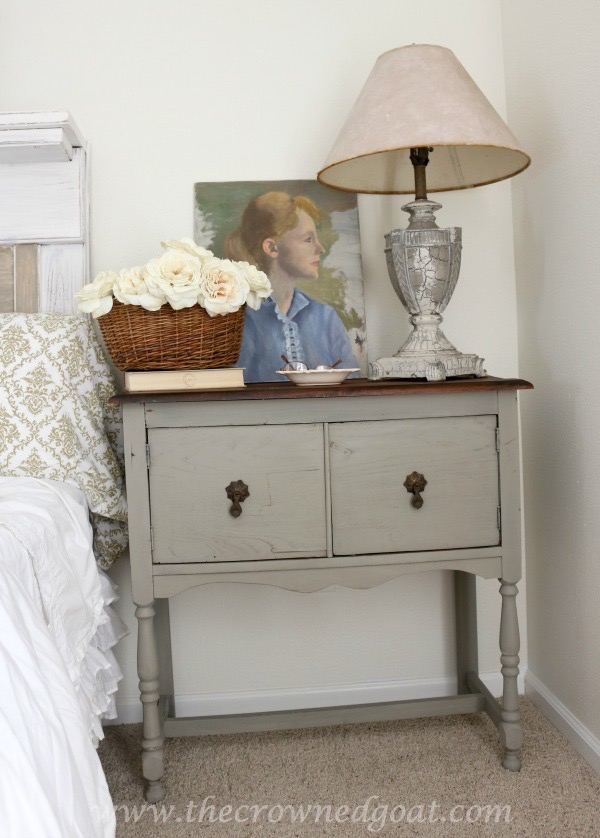 022416-16-Annie-Sloan-Chalk-Paint-French-Linen French Linen Painted Nightstand Painted Furniture
