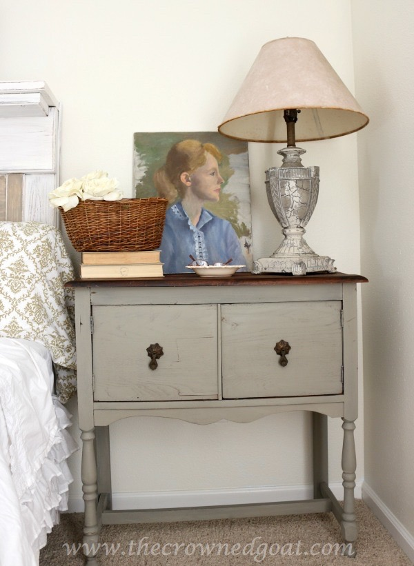 022416-18-Annie-Sloan-Chalk-Paint-French-Linen French Linen Painted Nightstand Painted Furniture