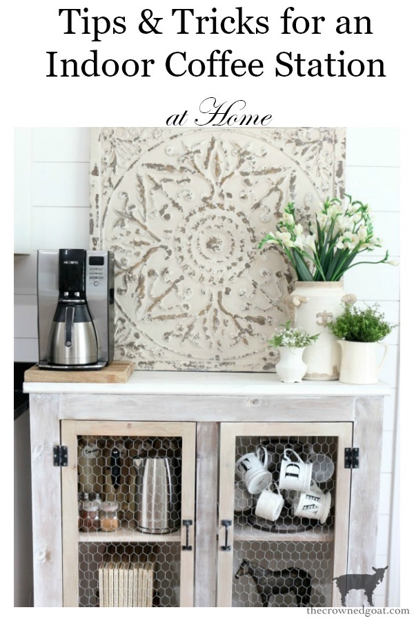 Indoor-Coffee-Station-Updates-The-Crowned-Goat-18 Indoor Coffee Station Updates Decorating DIY Organization