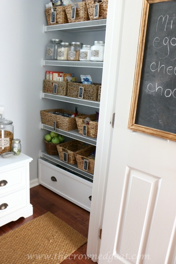 Organized Pantry Reveal