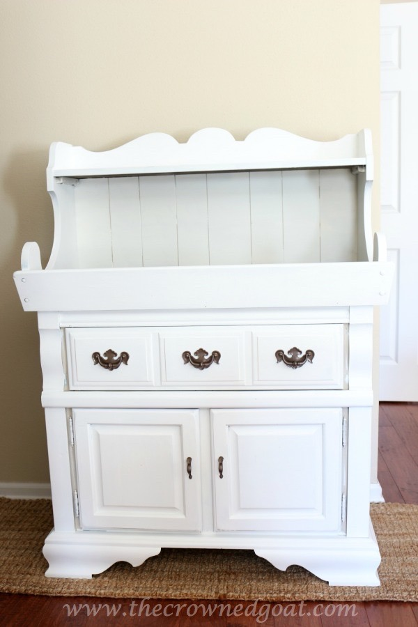 030816-5 Laundry Room Folding Station Decorating Painted Furniture