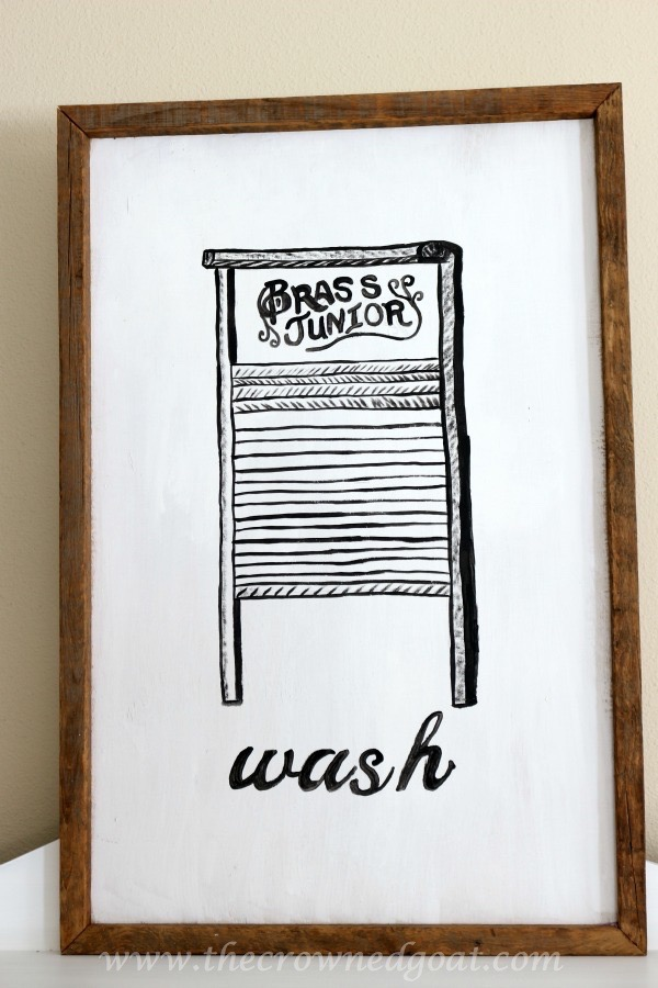 030916-14 How to Create Laundry Room Art DIY