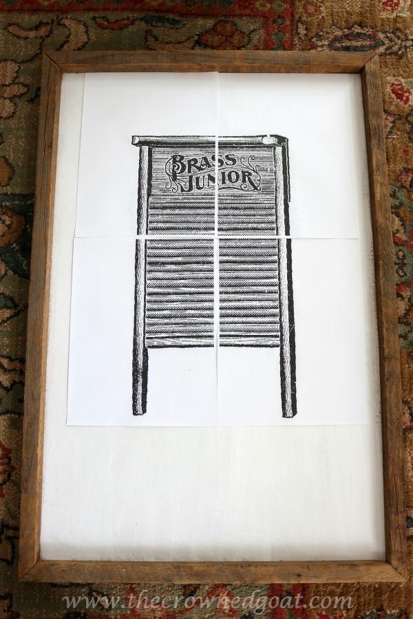 030916-8 How to Create Laundry Room Art DIY