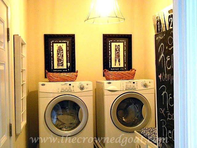 031116-1 Laundry Room Makeover Reveal Decorating DIY