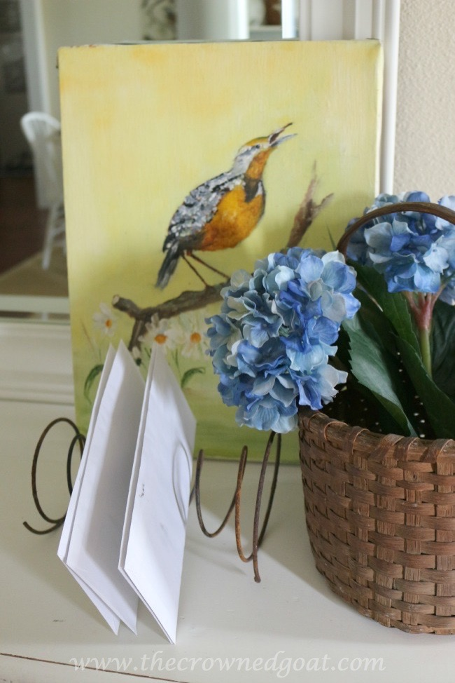 032316-9 Decorating for Spring with Vintage or Salvaged Finds Decorating