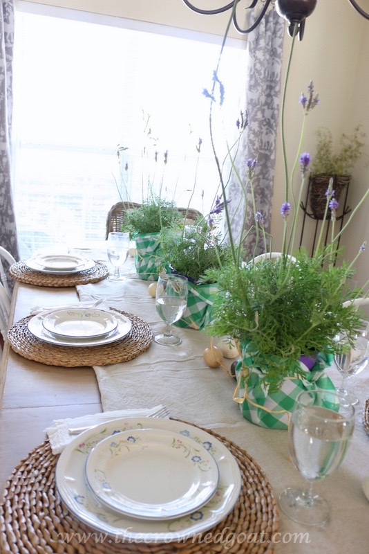 032416-15 Spring Inspired Dining Room Decorating DIY Spring
