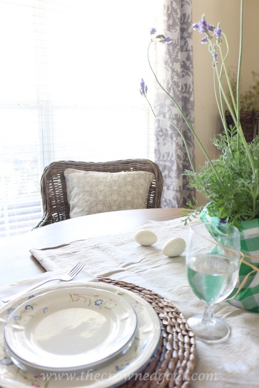 032416-5 Spring Inspired Dining Room Decorating DIY Spring