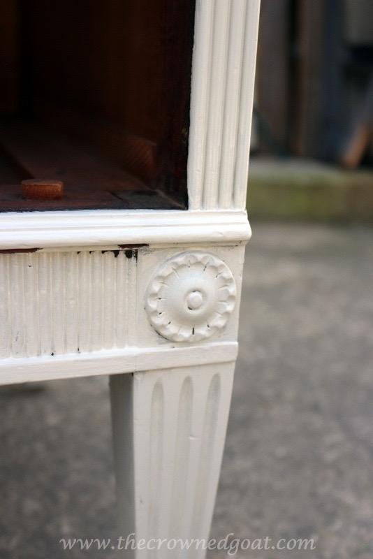 040416-5 ASCP Custom Gray Desk Painted Furniture Vendor Spaces