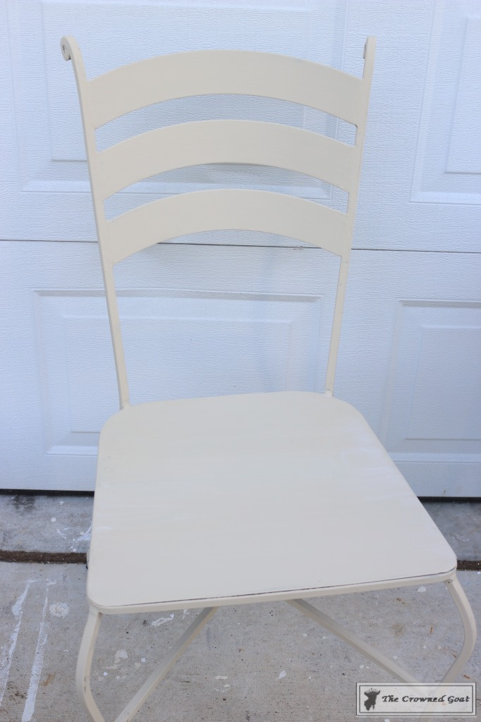 051716-4-682x1024 Using Chalk Paint on Metal Patio Furniture DIY Painted Furniture