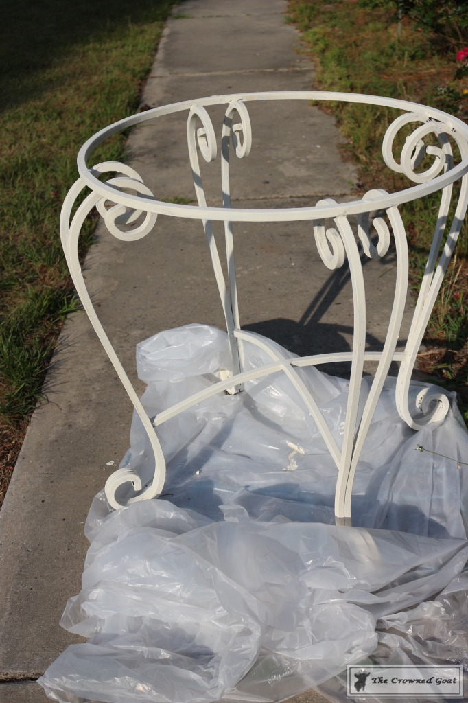 051716-6-682x1024 Using Chalk Paint on Metal Patio Furniture DIY Painted Furniture