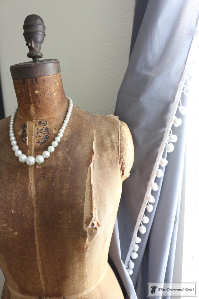 060816-12-682x1024 No Sew Pom-Pom Curtains Decorating DIY