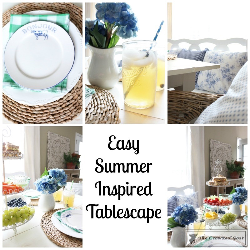 062016-1 Summer Inspired Tablescape Decorating Summer