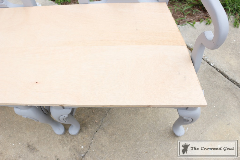 062416-9-1024x682 Creating a Bench from Dining Chairs DIY Painted Furniture
