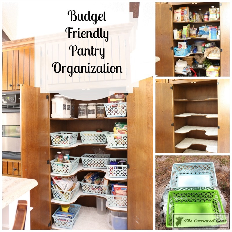 062916-9 Loblolly Manor: Organizing the Pantry DIY Organization
