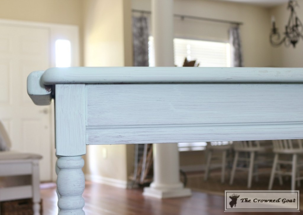 Beach Cottage Inspired Painted Table - 6