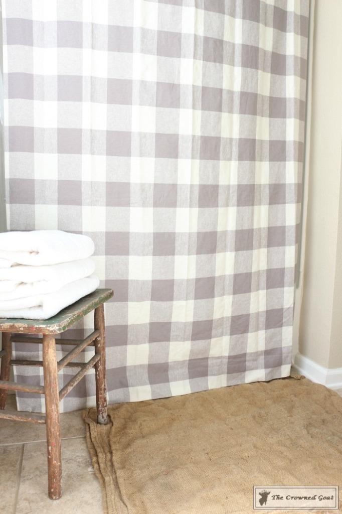 Budget-Friendly-Bathroom-Makeover-7-682x1024 Budget Friendly Bathroom Makeover Reveal  Decorating DIY Painted Furniture