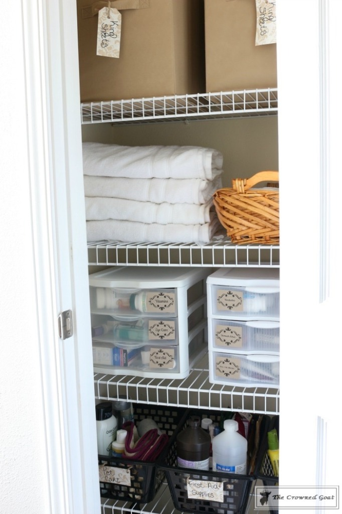 How-to-Keep-Linen-Closets-Organized-4-682x1024 How to Keep Linen Closets Organized and Maintained  DIY Organization