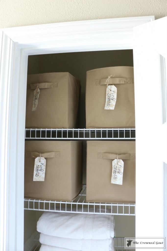 How-to-Keep-Linen-Closets-Organized-7-682x1024 How to Keep Linen Closets Organized and Maintained  DIY Organization