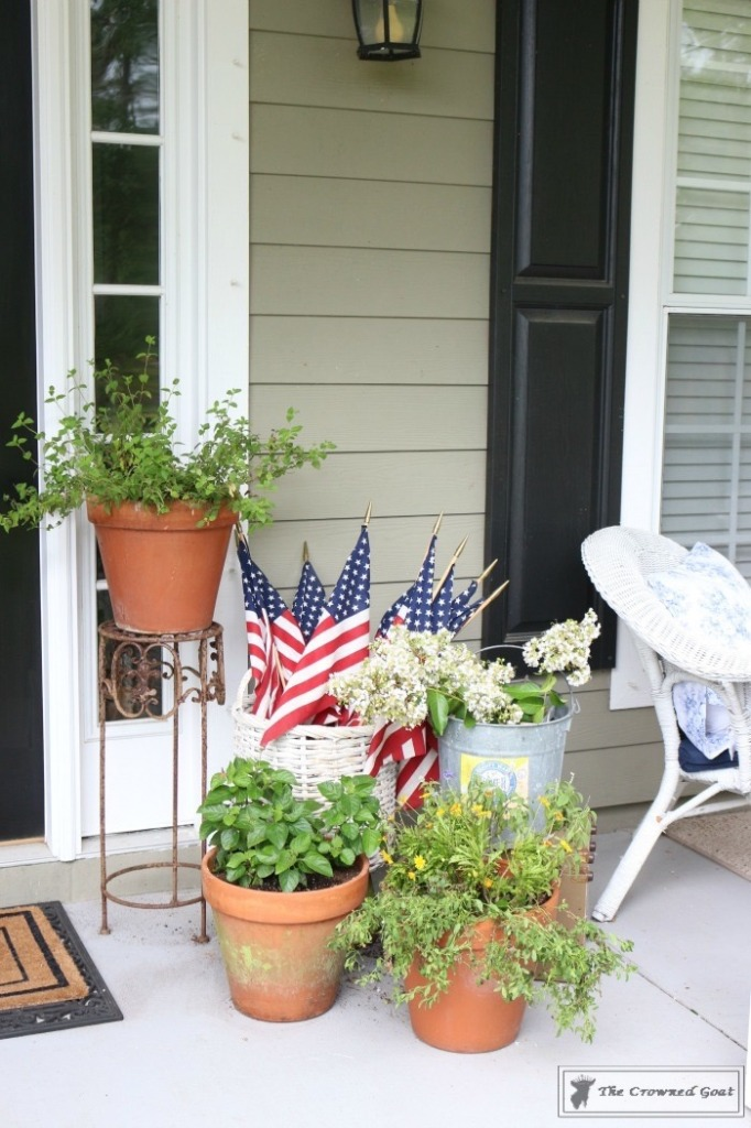 Patriotic-Summer-Porch-10-682x1024 Patriotic Summer Porch Tour Decorating DIY Summer
