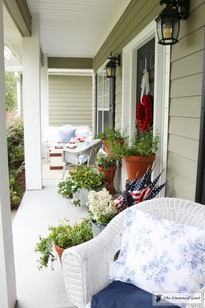Patriotic-Summer-Porch-17-682x1024 Patriotic Summer Porch Tour Decorating DIY Summer