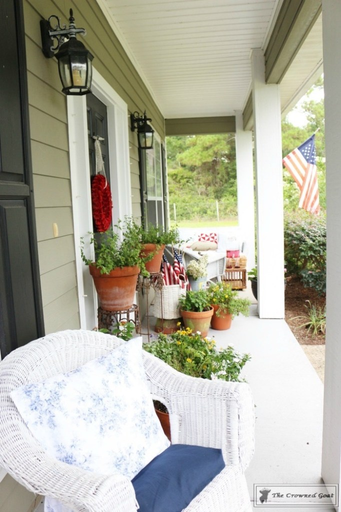 Patriotic Summer Porch - 18