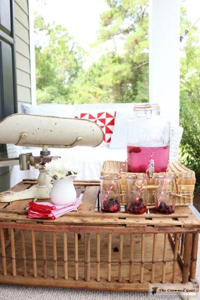 Patriotic-Summer-Porch-3-683x1024 Patriotic Summer Porch Tour Decorating DIY Summer