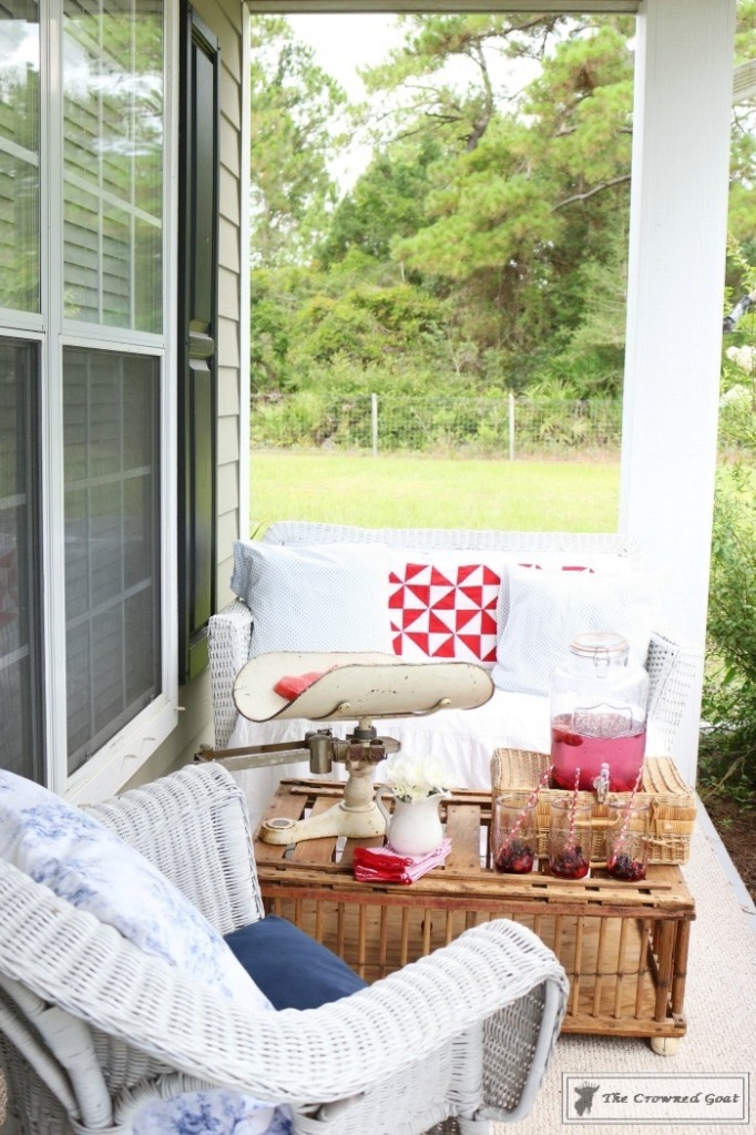 Patriotic-Summer-Porch-9-682x1024 Patriotic Summer Porch Tour Decorating DIY Summer