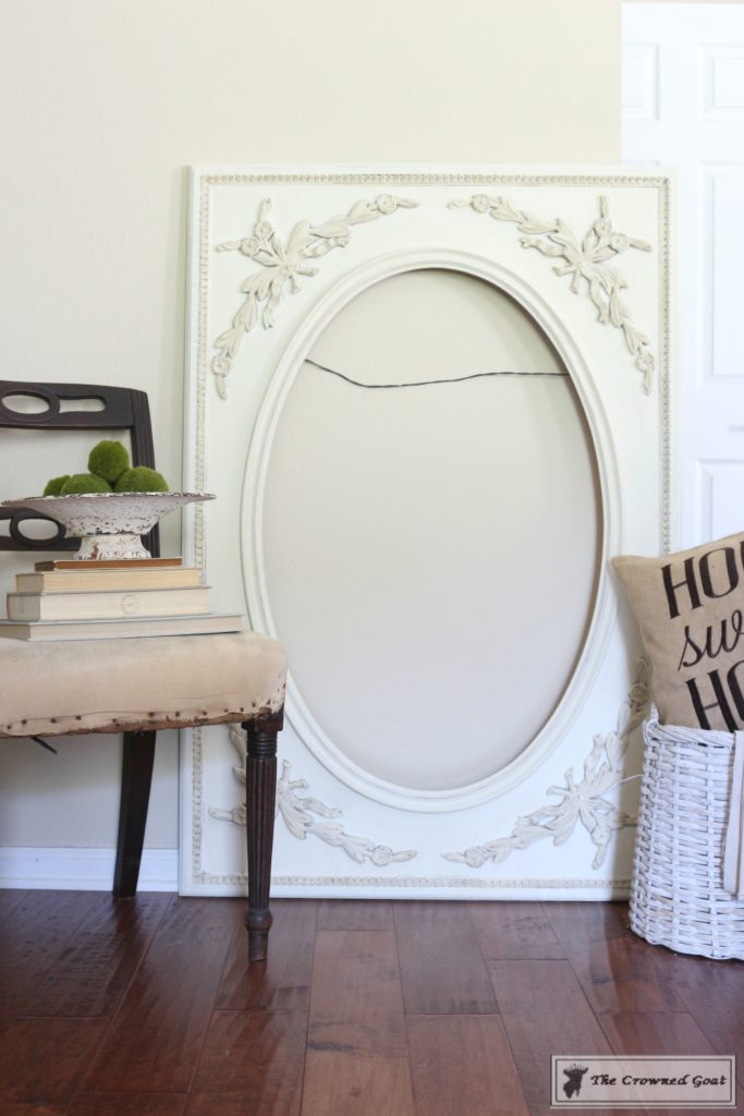 ASCP-Mirror-Makeover-8-683x1024 ASCP Vintage Mirror Frame Makeover DIY Painted Furniture