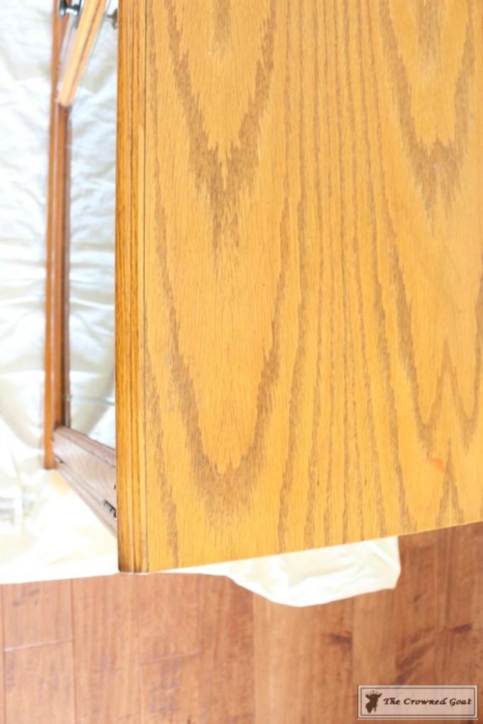 Snow-White-Media-Cabinet-Makeover-2-683x1024 Media Cabinet Makeover in GF Snow White Painted Furniture