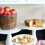 How to Make a Faux Milk Glass Cake Stand