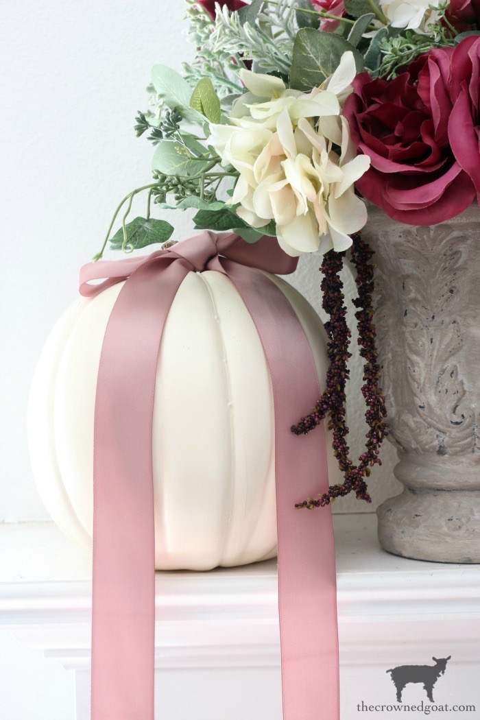 Fall-Decorating-Mantel-The-Crowned-Goat-6 The Busy Girl's Guide to Decorating a Fall Mantel Fall Holidays