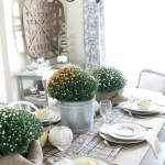 The Busy Girl's Guide to Fall Decorating: The Dining Room