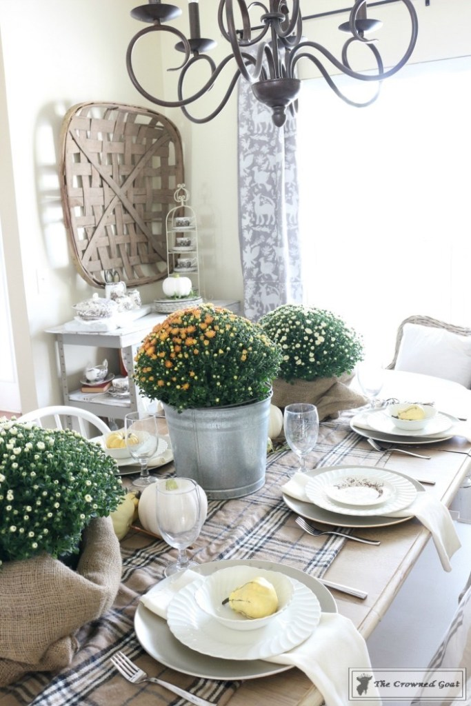 Fall-Decorating-in-the-Dining-Room-7-683x1024 The Busy Girl's Guide to Fall Decorating: The Dining Room Decorating DIY Fall Holidays