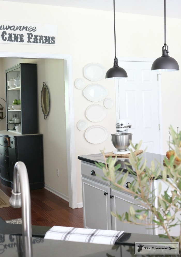 Farmhouse-Kitchen-Makeover-Reveal-7 A Simple Cottage Kitchen Makeover: The Reveal Decorating DIY Painted Furniture
